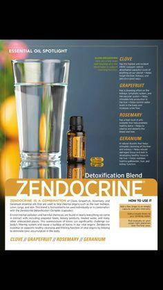 Zendocrine para desintoxicar