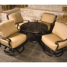 Augustine Chat Set by Hanamint. Brought to you by your friends at Family Leisure where selection and value in patio furniture is our specialty. Outdoor Areas, Outdoor Seating, Outdoor Decor, Furniture Decor, Outdoor Furniture Sets, Family Leisure, Outdoor Projects, Outdoor Entertaining, Outdoor Living