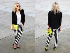 lookbook stripes neon