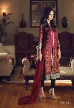 Pakistani couture Maria B Pakistani Couture, Pakistani Dress Design, Pakistani Outfits, Indian Outfits, Indian Attire, Emo Outfits, Western Outfits, Bollywood, Maria B