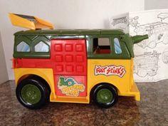 Teenage Mutant Ninja Turtles Party Van Wagon Vehicle Vintage 1989 TMNT