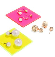 pearls & pavé.