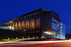 Experimental Media amp Performing Arts Center (EMPAC)  Rensselaer Polytechnic Institute - Troy, NY.   Grimshaw Architechts