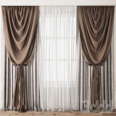 Design Luxury curtains for your home - Homemidi Girls Bedroom Curtains, Living Room Decor Curtains, Home Curtains, Living Room Windows, Large Window Curtains, Sheer Curtains, Classic Curtains, Elegant Curtains, Beautiful Curtains