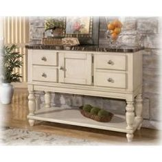 Buffet http://furnishamerica.com/manadell-dining-room-server-by-ashley-furniture.aspx