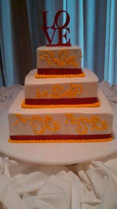 ISU themed cake  http://www.catering.iastate.edu/