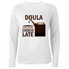 Doula (Funny) Gift Women's Long Sleeve T-Shirt