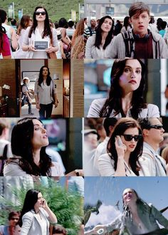 "Zara Young. I got so excited when I saw Katie McGrath! <--- Yes I was like ""MORGANA WHY ARE YOU IN JURASSIC WORLD"""