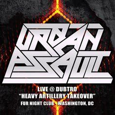 "Urban Assault – Live @ Heavy Artillery Takeover 2012, Washington DC by Urban Assault on Mixcloud DC Music Dispensary Presents: Urban Assault – ""LIVE @ Dubtro – Heavy Artillery Takeover""...More info →"