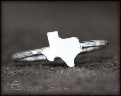 TEXAS Stacking Ring  texan ring stacking rings by LEJewelryDesigns, $32.00