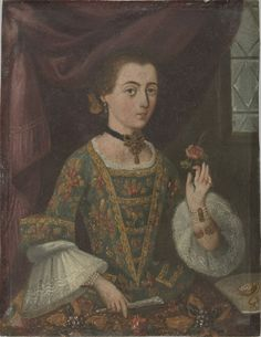 Portrait of a Lady. New Spain, México. Philadelphia Museum of Art - Collections Object : Portrait of a Lady