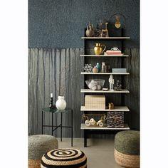 Hemp stool, grey/nature – House Doctor #interior #design #scandinavian