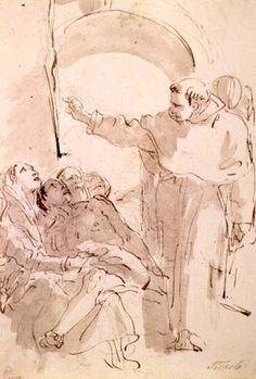 Giovanni Battista Tiepolo - The Miracle of St. Anthony of Padua