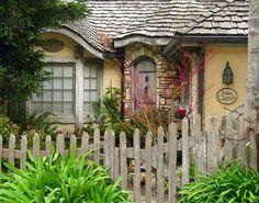 Entry, Suite Cherub Cottage, Carmel, California