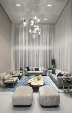 Contemporary Twilight - Residential Interior Design From DKOR Interiors