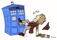 The Doctor in trouble by ~telesketch on deviantART