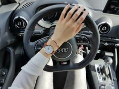 audi, watch, and girl image