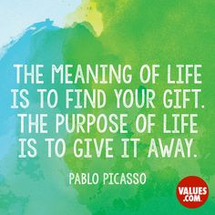 Share your passions #purpose #inspire www.values.com