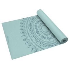 Gaiam Marrakesh Print Premium Yoga Mat (5mm) Item# 1651 - Click image twice for more info - See a larger selection of Yoga Supplies at  http://www.zbestsellers.com/level.php?node=116&title=yoga-supplies  - fitness, exercise, health, gift ideas.