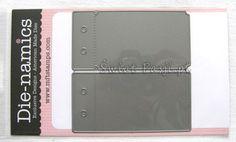 91zł   wykrojnik Die-namics - mini album biletowy Świat Pasji