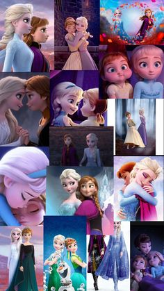 Elsa and Anna wallpaper
