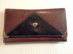 """NWOT Vintage """"GUCCI ANNIVERSARY EDITION""""Women's Leather Wallet #Gucci #Trifold"""