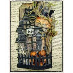 Tim Holtz Halloween Tags | Sizzix - Bigz Die - Rickety House