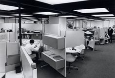 A History Of The Future Workplace: How Architects (And Bureaucrats) Have Reimagined The Office - Architizer Journal Metropolis Magazine, Space Matters, India House, Office Space Design, Office Designs, Modern Interior Design, Mid-century Modern, Modern Tech, Danish Modern