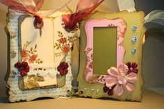 Shabby Beautiful Scrapbooking: Another Shabby Chic Chipboard Mini Album