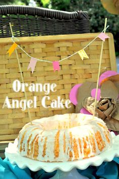 Orange Angle Cake on Inspired by Charm by Shannanigans