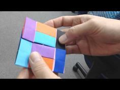 【折り紙が変形するよ】箱にもおもちゃにもなる不思議で楽しい折り紙の折り方【音声解説あり】 - YouTube