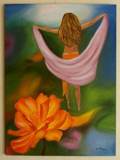 Liberdade, óleo sobre tela
