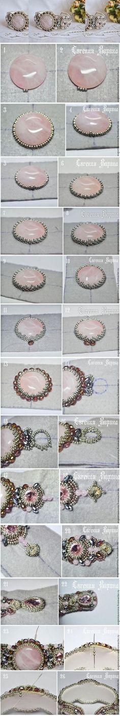 Beautiful beaded bracelet #tutorial / Мастер-класс: нежный браслет вышитый бисером #lbloggers #cbloggers