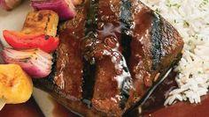 South Pacific Steak Kabobs