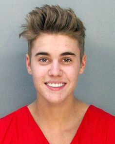 Skout survey has group and individual Halloween costume ideas, like Justin Bieber's mugshot
