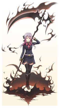 Amazing Hiiragi Shinoa from seraph of the end #anime #cosplay #costume