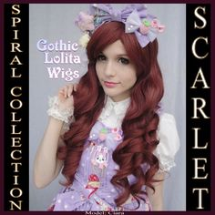(http://www.gothiclolitawigs.com/gothic-lolita-wigs/spiral-lolita-collection-scarlet/)  ON STAGE