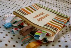 Taggie Book - Made By Marzipan