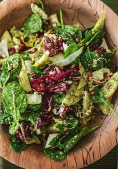 Happy Pear House Salad with Pumpkin Seed and Parsley Pesto - The Happy Foodie