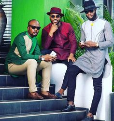 The Swag, The Style, The simplicity African men African style African fashion African Fashion Designers, African Inspired Fashion, African Men Fashion, Africa Fashion, Ankara Fashion, African Women, African Attire, African Wear, African Dress