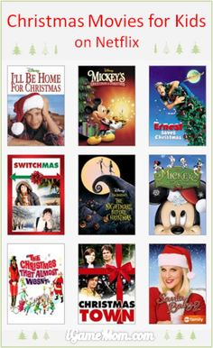 Christmas movies for