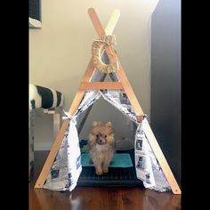 Jungle safari tent cute and unique tents teepees pet beds - Tipi para perros ...