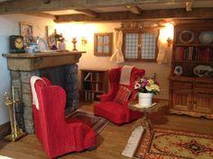 Mouse tree house livingroom