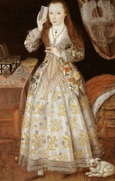 """elizabeth the first as a child - Google Search"" Google is like an oracle: it's utterings are hard to interpret. This is Elizabeth (Vernon) Wriothesley, Countess of Southampton, artist unknown, courtier, for a time, to Queen Elizabeth I."
