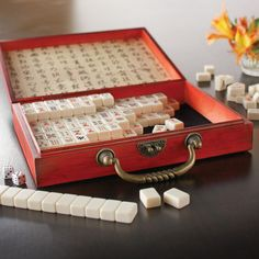 Vintage-style American Mah-jongg Set for me - have always wanted a mahjongg set. Monster Board, Mahjong Set, Vintage Style, Vintage Fashion, Fortune Cookie, Photography Equipment, Diy Arts And Crafts, Made Goods, Children's Place