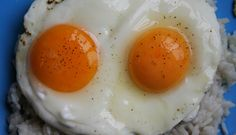 Rice and fried eggs (I like mine over well), add a fried banana. Simple, quick, basic