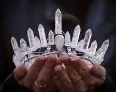 Here is a #crown   If this was yours when would you wear it? How would you use it to highest good for the all? #allthatis   #crystalhealing    http://cherylsnider.com/