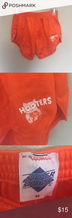 Hooters shorts I bought these for Halloween but ended up wearing black ones instead. It was such a cute costume!! Shorts