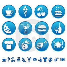 food drink icons prev