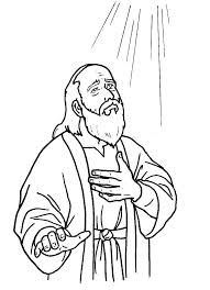 joshua chapter 10 coloring pages | Achan Sinned: Joshua 7; Coloring Page: (Joshua praying ...